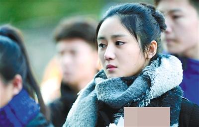 童星关晓彤今年参加了北电表演学院的考试